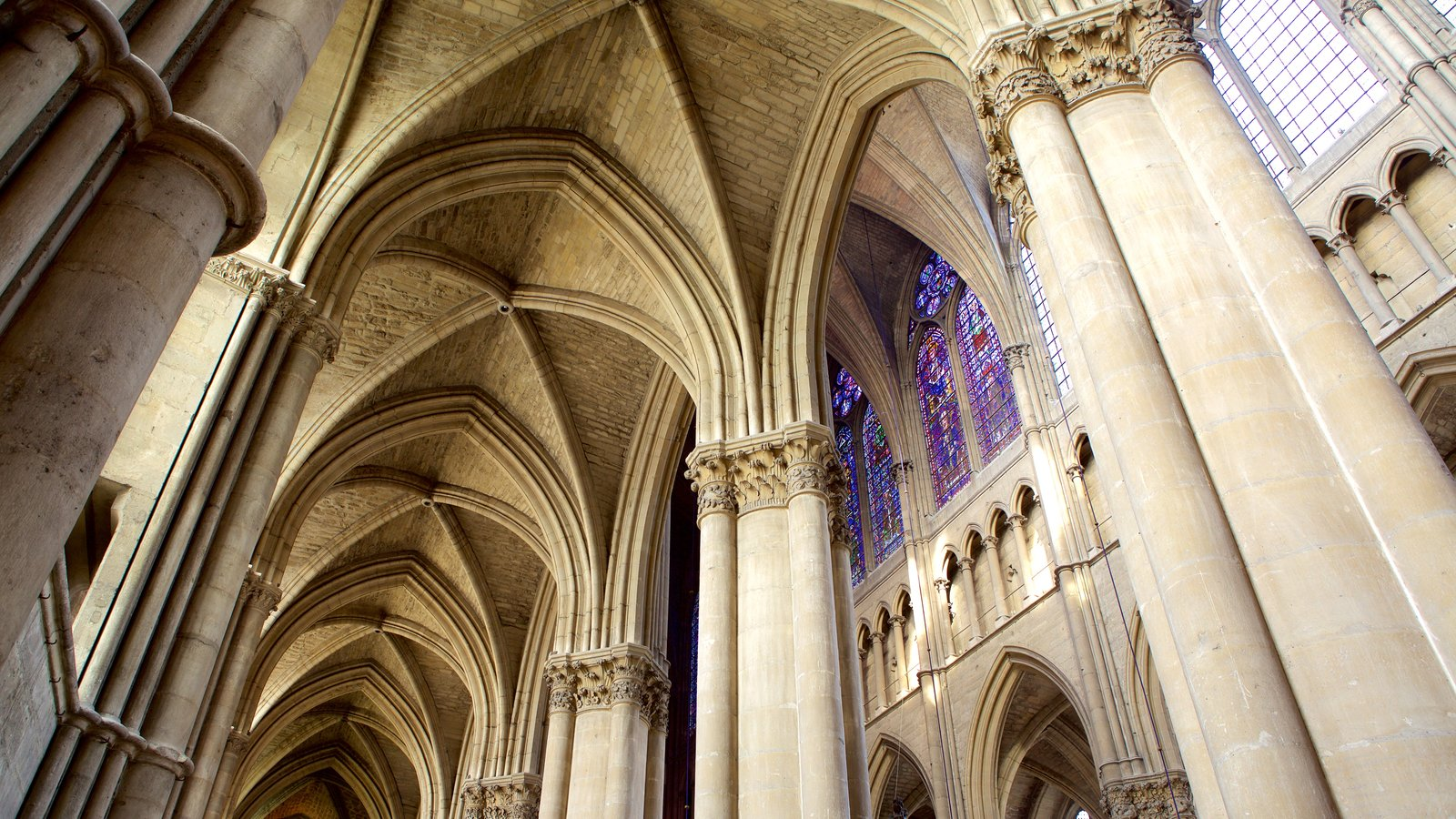 Reims Cathedral Featuring Interior Views, Heritage Architecture And  Heritage Elements