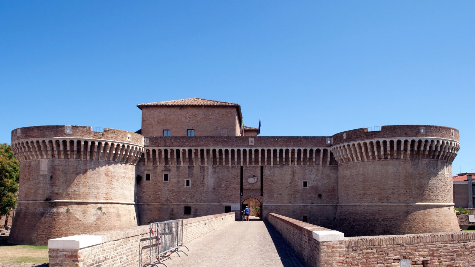 Senigallia which includes heritage elements