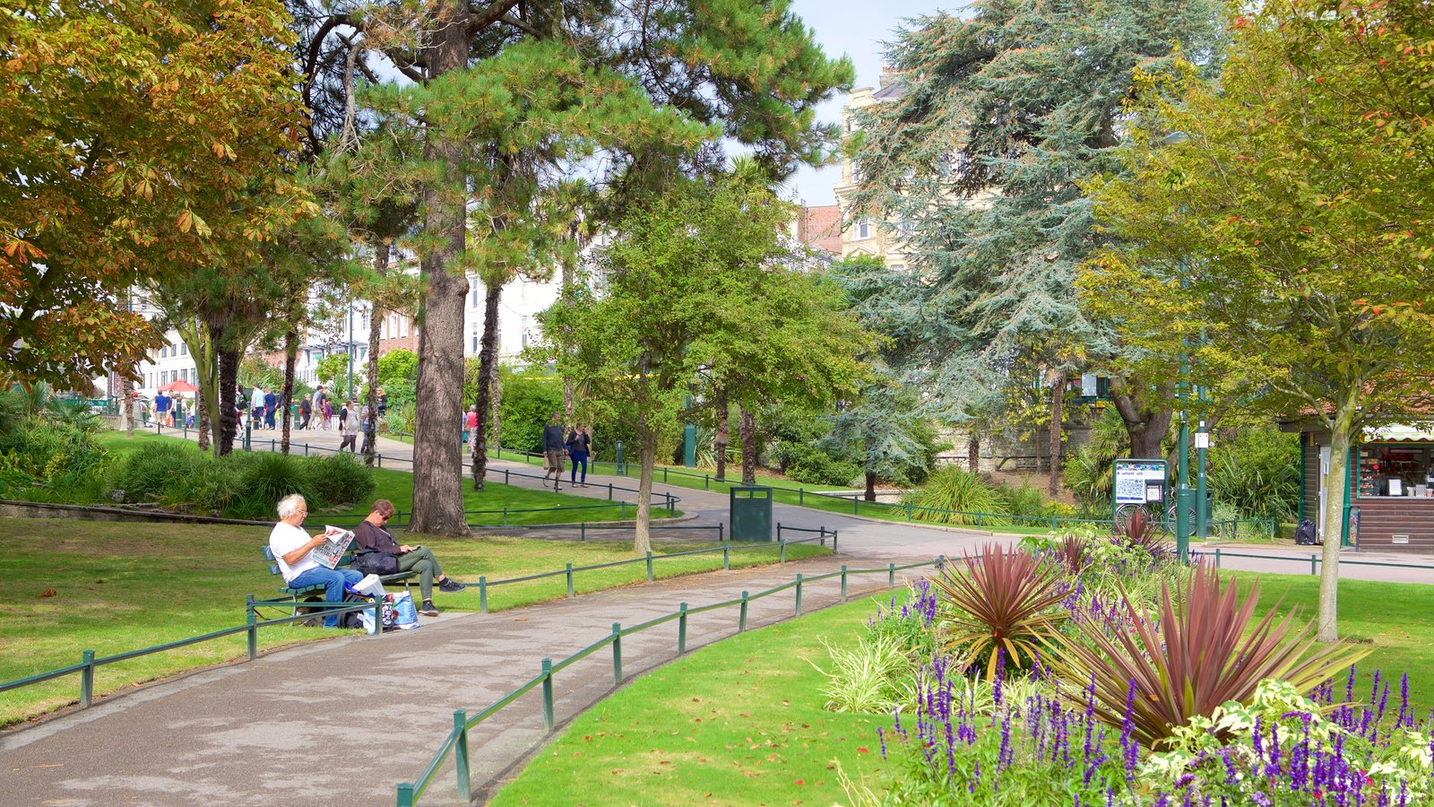Bournemouth Lower Gardens Showing A Park As Well Couple