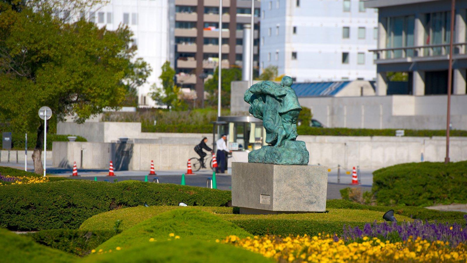Hiroshima Peace Garden Garden Ftempo