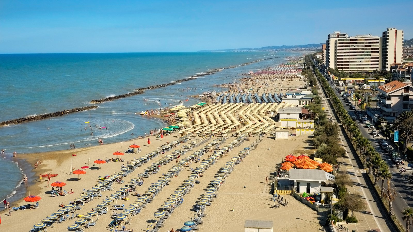Holidays in Abruzzo in 2017. Sea