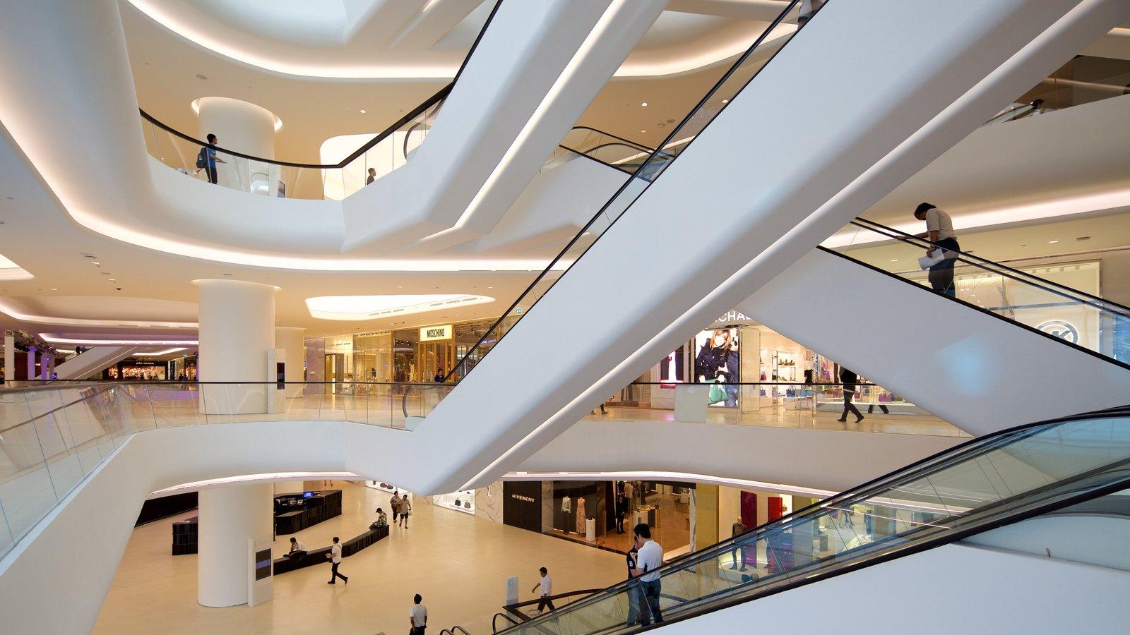 Sukhumvit showing interior views and modern architecture