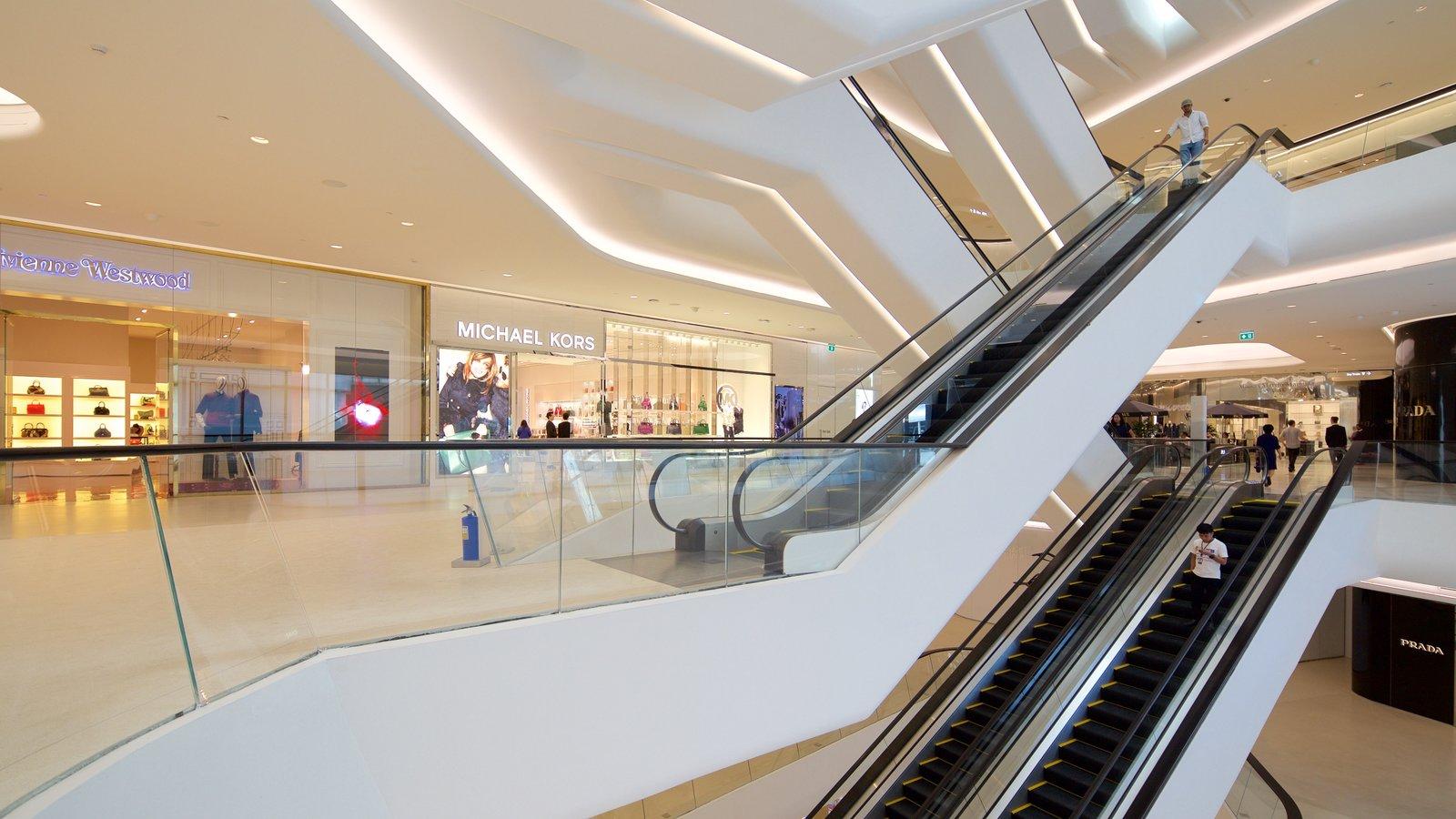 Sukhumvit featuring modern architecture and interior views