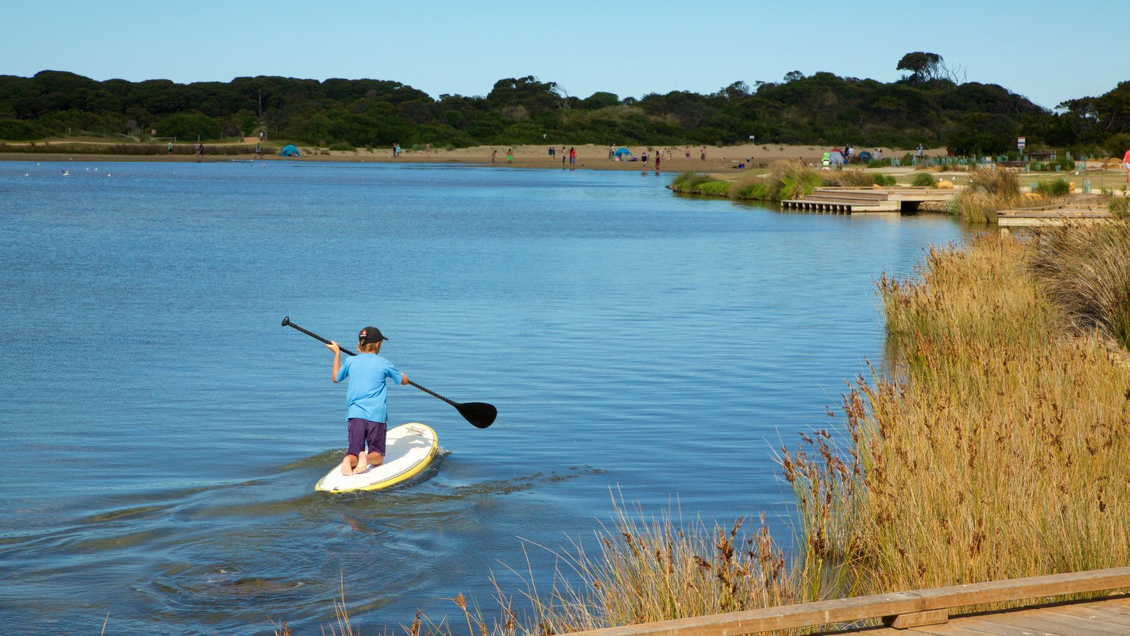 Anglesea which includes kayaking or canoeing and a river or creek as well as an individual child