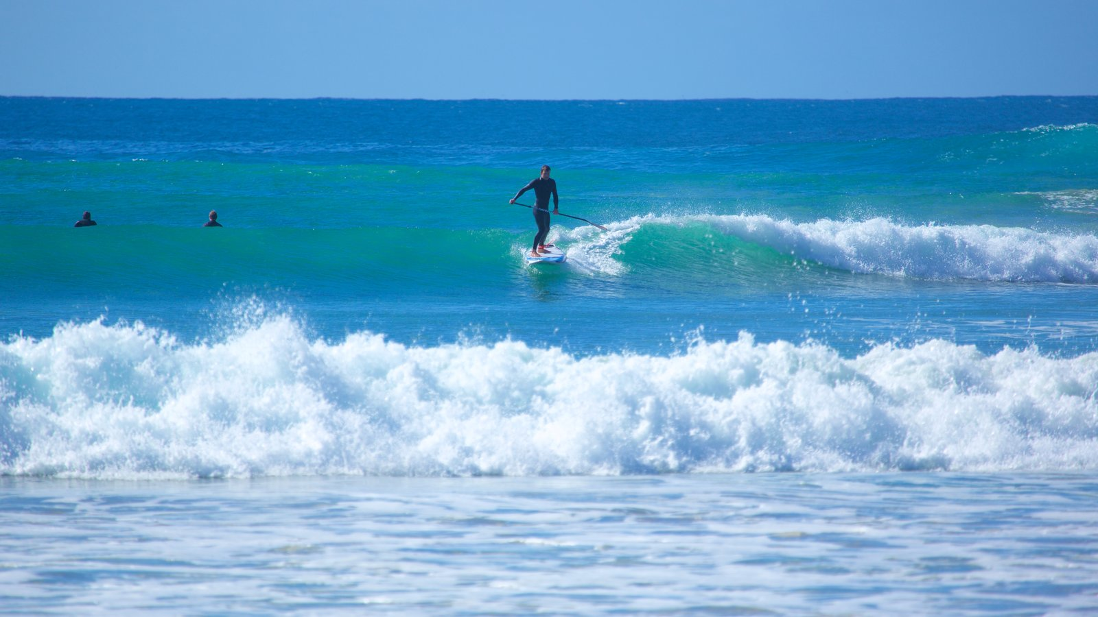 Great Ocean Road which includes surfing and waves as well as an individual male