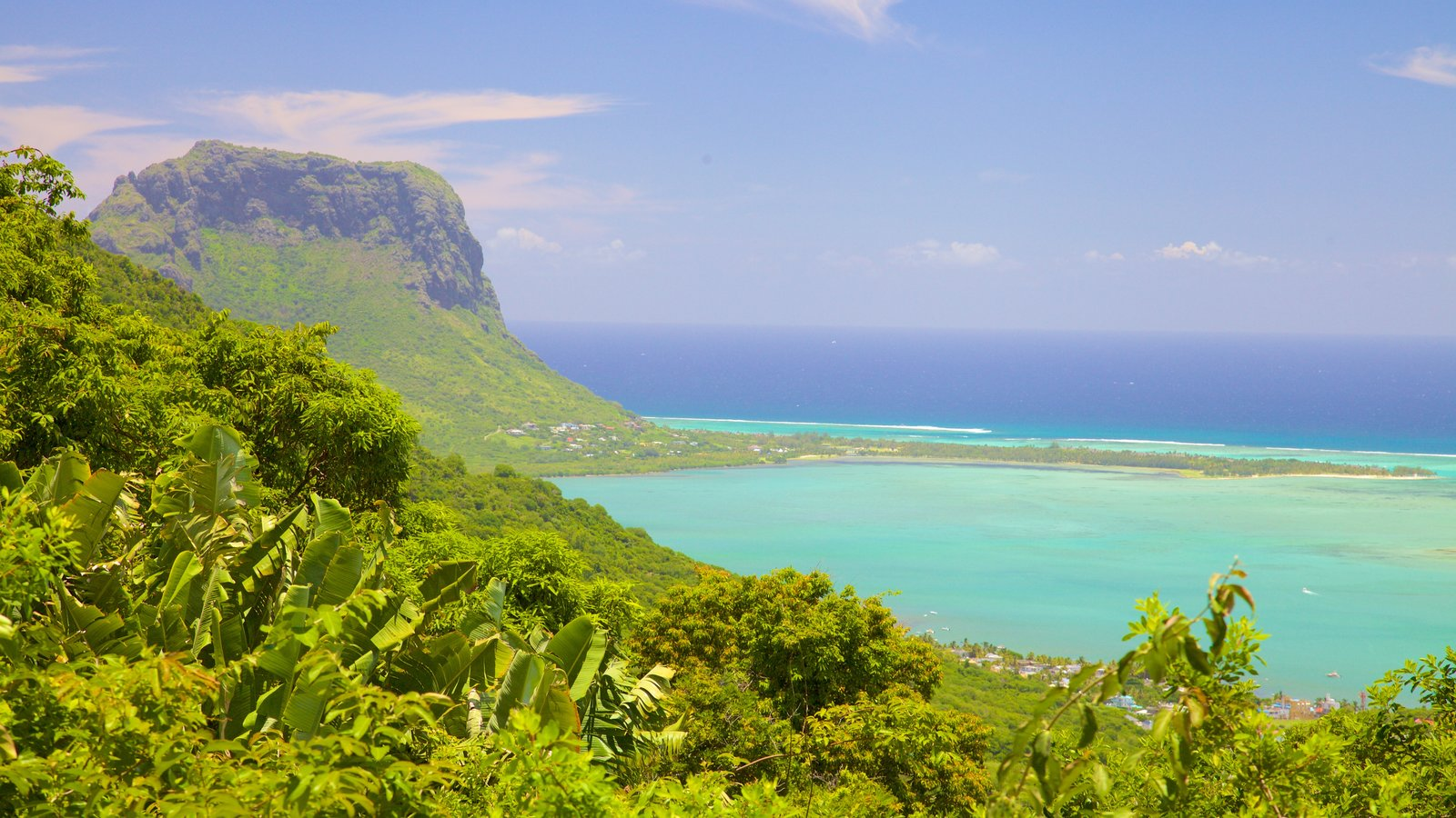 Le Morne Pictures View Photos Images Of Afrika Et Tour Horseback Riding Which Includes Mountains A Bay Or Harbor And Landscape Views