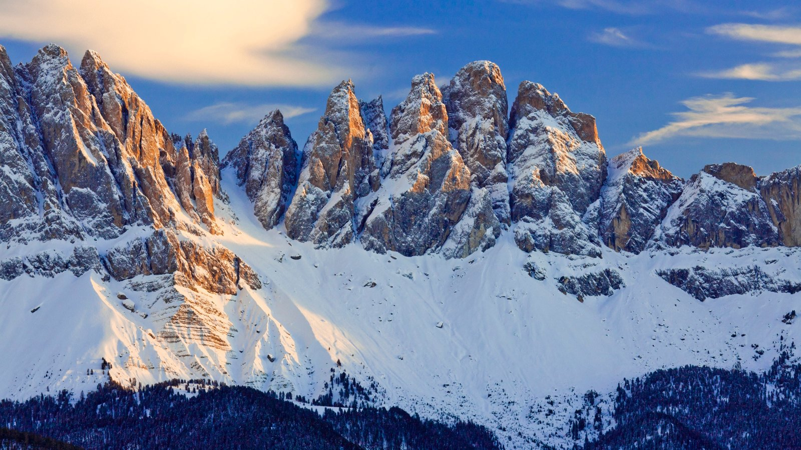 Alto Adige - South Tyrol showing mountains and snow