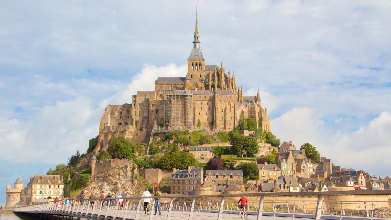 castles palaces pictures view images of le mont michel