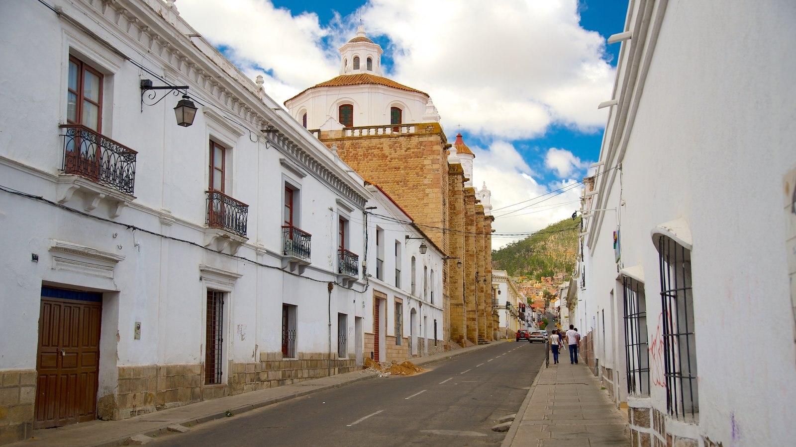 Sucre mostrando uma cidade