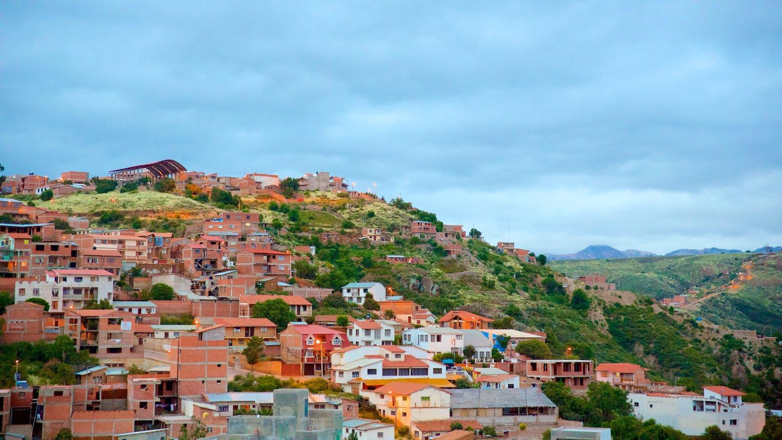 Sucre que inclui cenas tranquilas e uma cidade