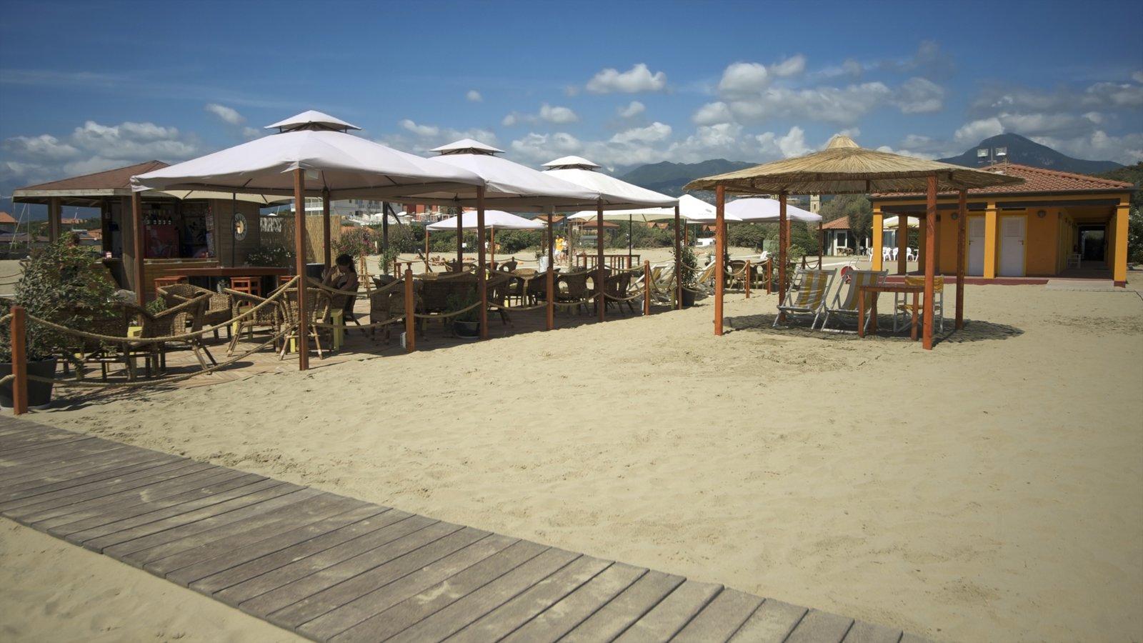 Versilia featuring a beach bar