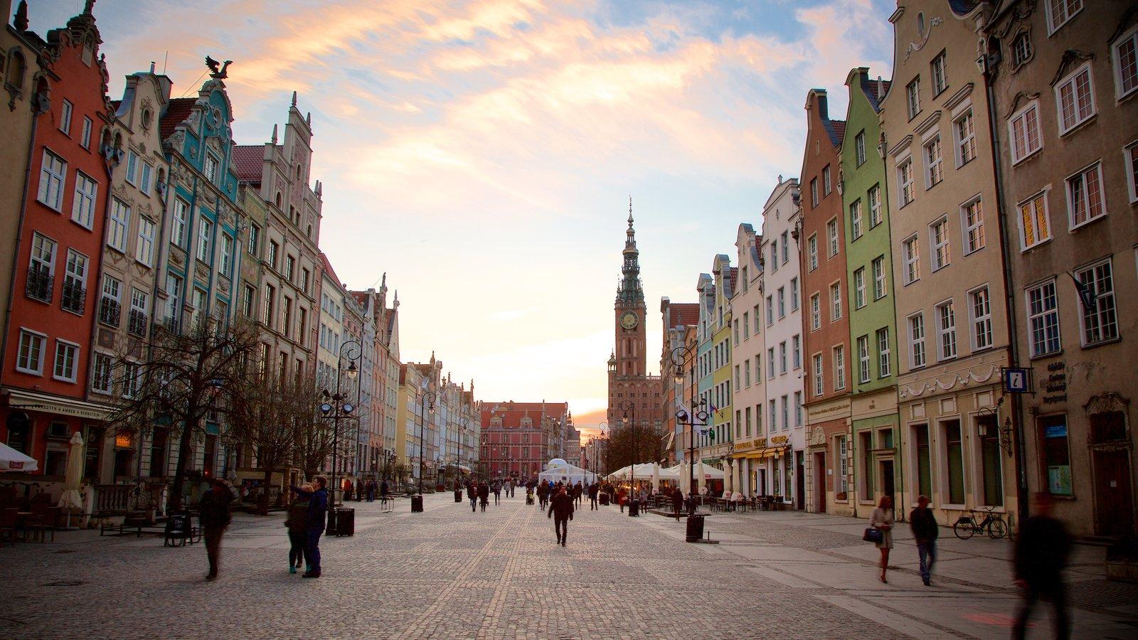Gdansk que inclui cenas de rua