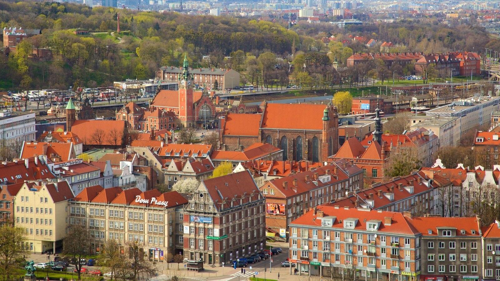 Gdansk que inclui uma cidade