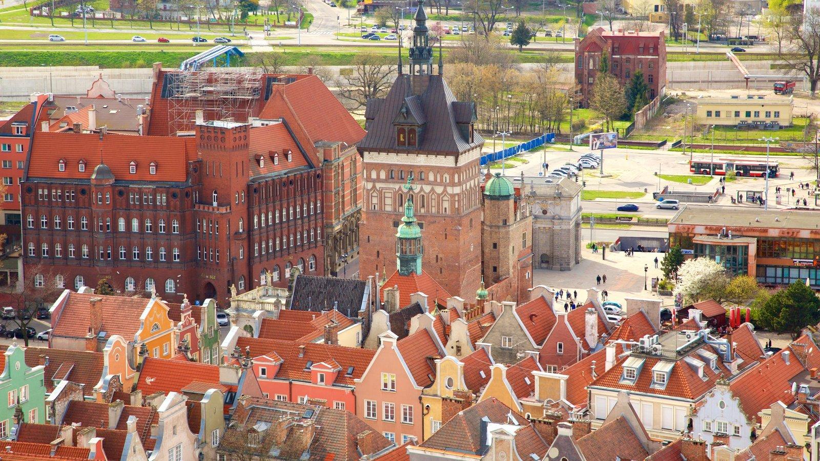 Gdansk mostrando uma cidade