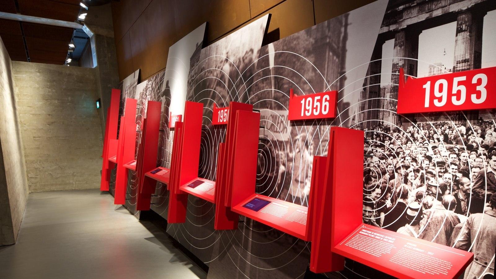 Museu da Solidariedade caracterizando vistas internas