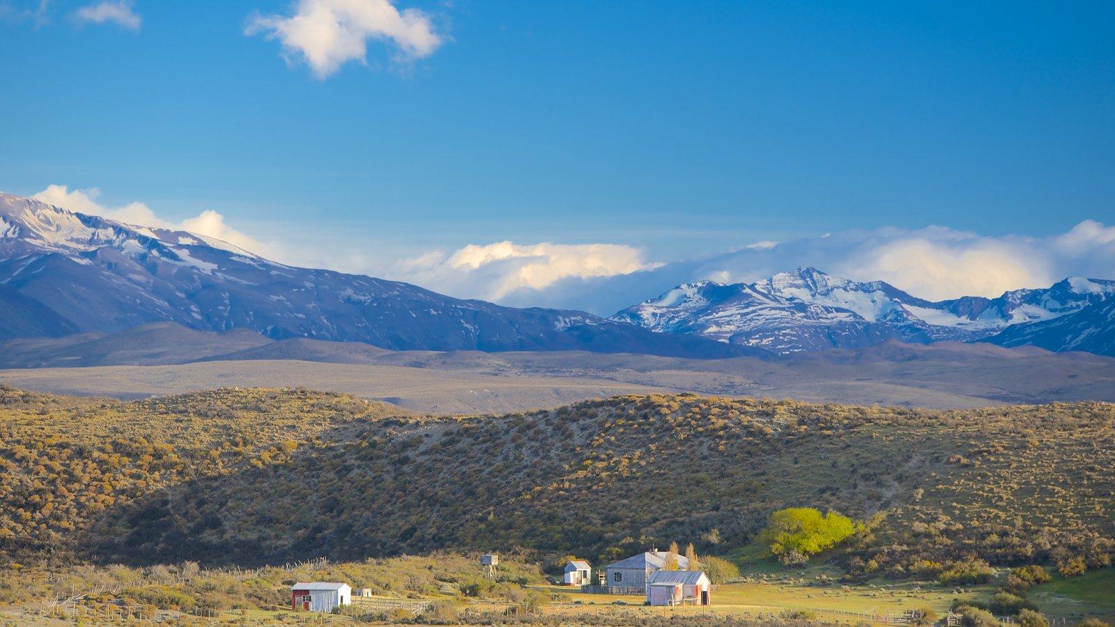 Torres Del Paine caracterizando paisagem e cenas tranquilas