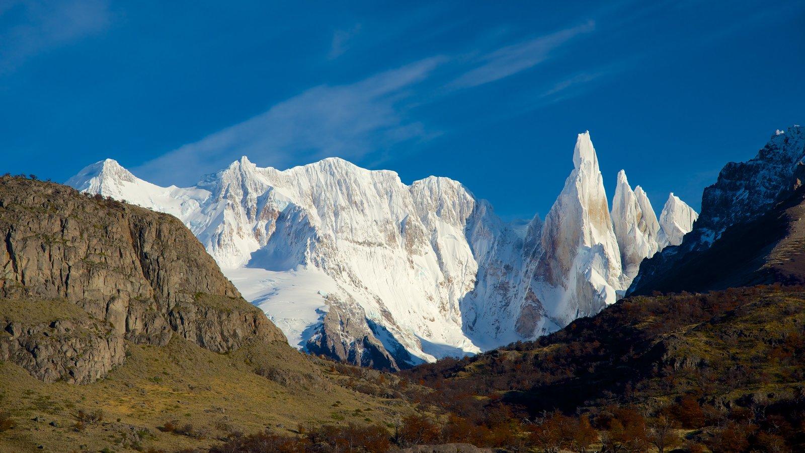 Parque Nacional Los Glaciares caracterizando paisagem, cenas tranquilas e montanhas