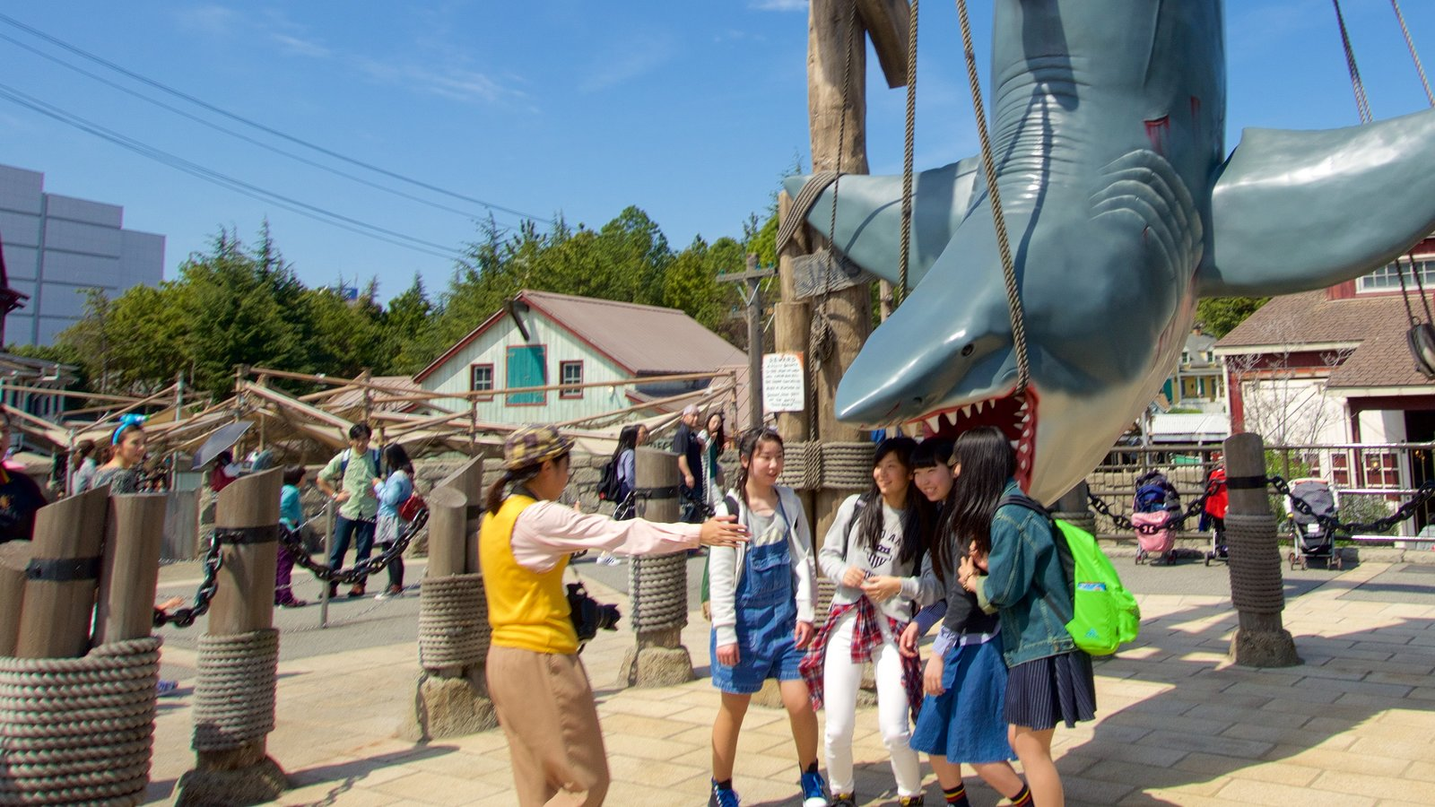 Universal Studios Japan® as well as a small group of people
