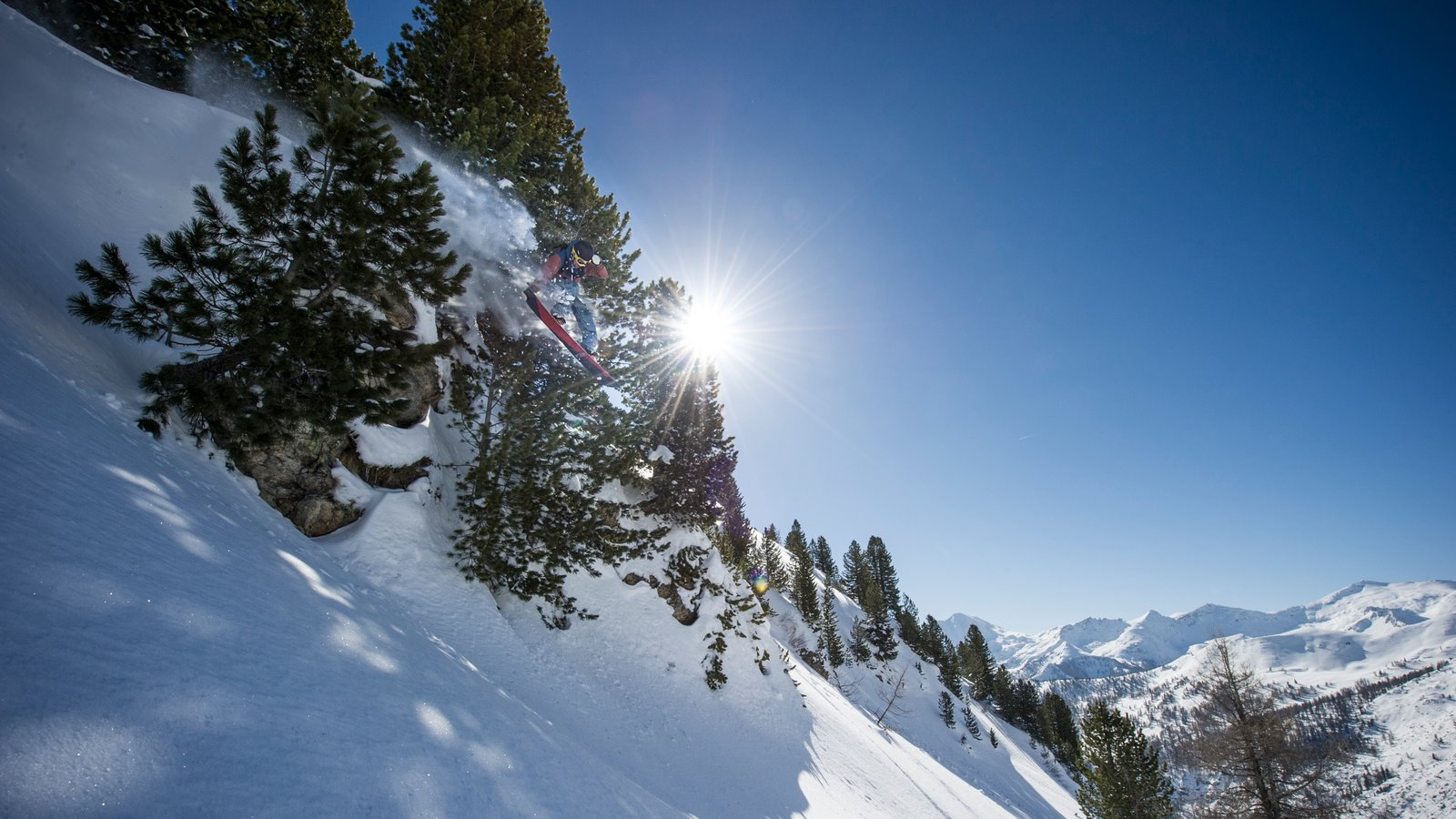 Obertauern featuring mountains, snow skiing and snow