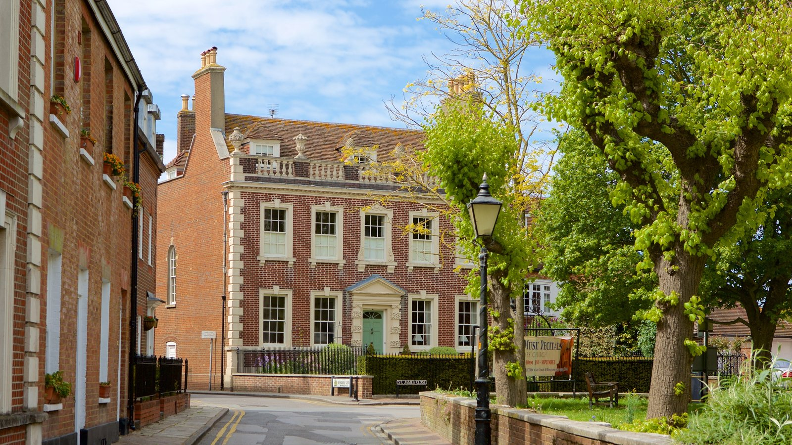 Poole que inclui arquitetura de patrimônio