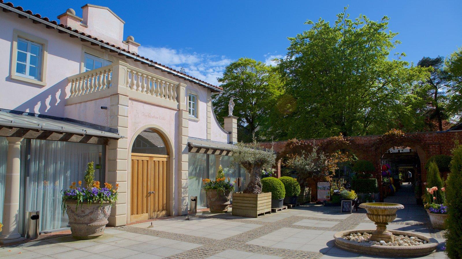 Poole caracterizando arquitetura de patrimônio