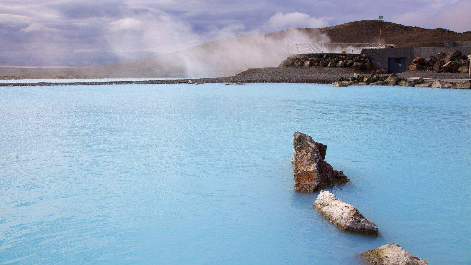 Znalezione obrazy dla zapytania myvatn natura baths