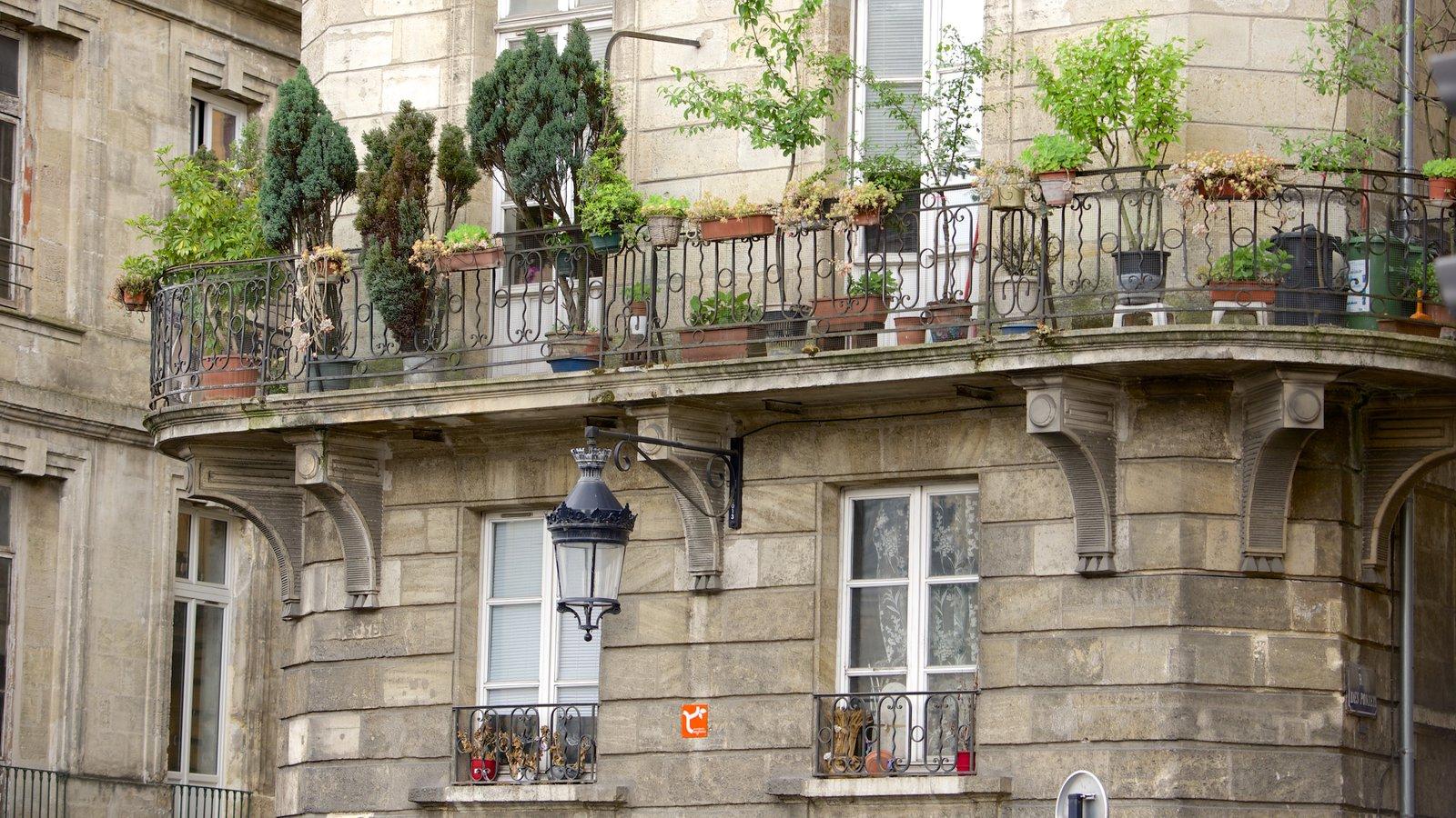 Bordeaux showing heritage elements