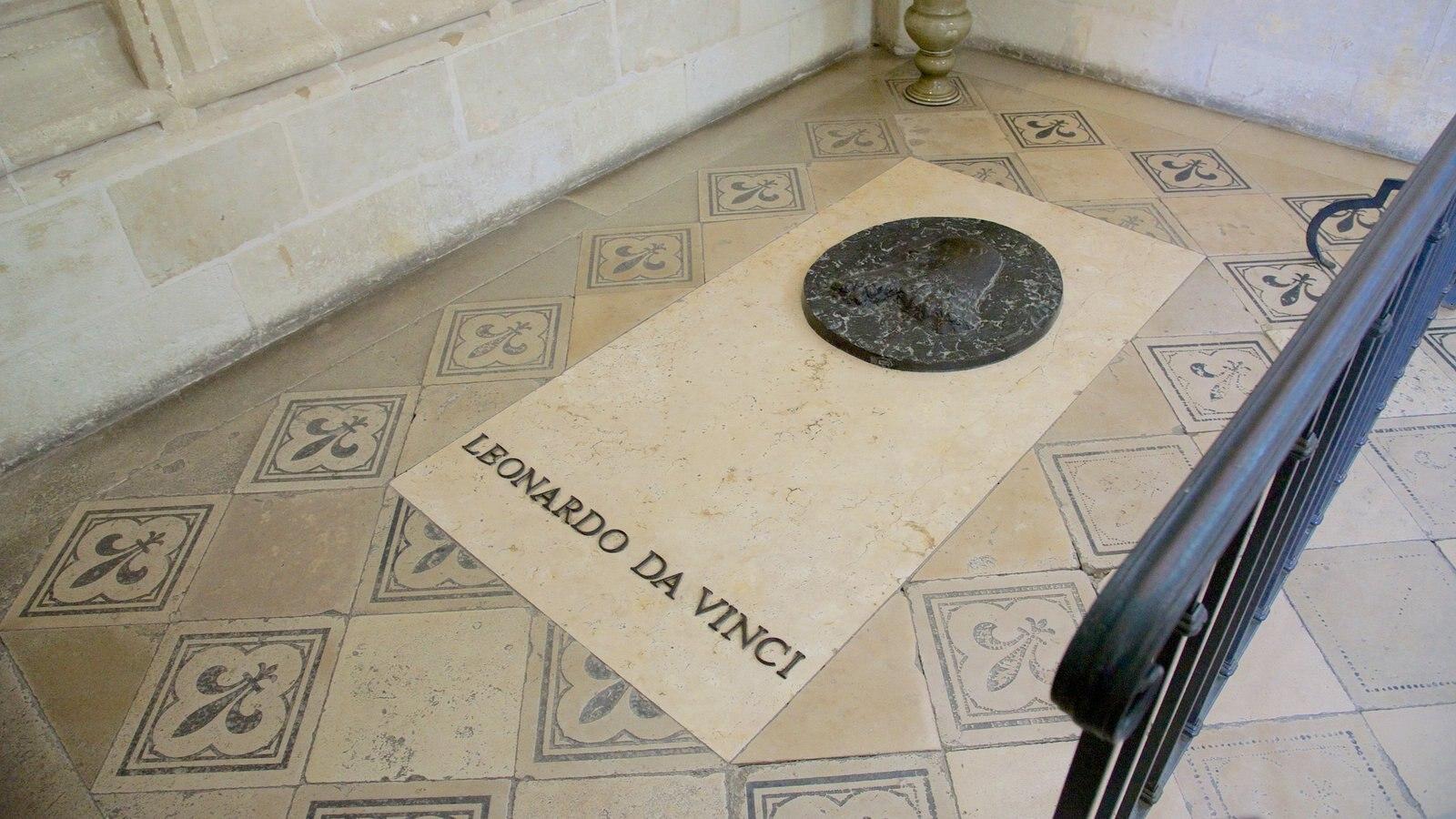 Chateau d\'Amboise caracterizando um memorial