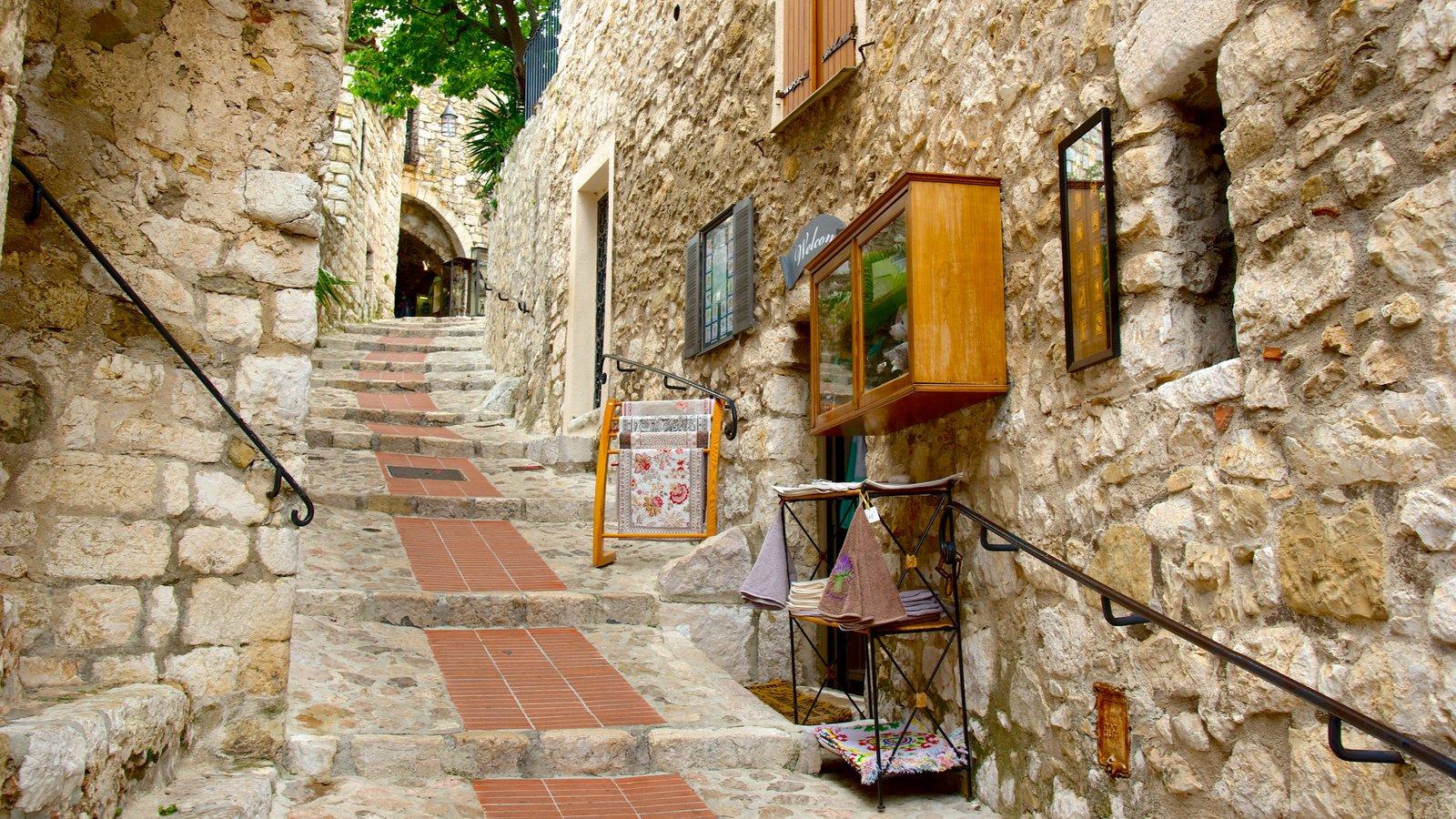 Monaco showing a coastal town