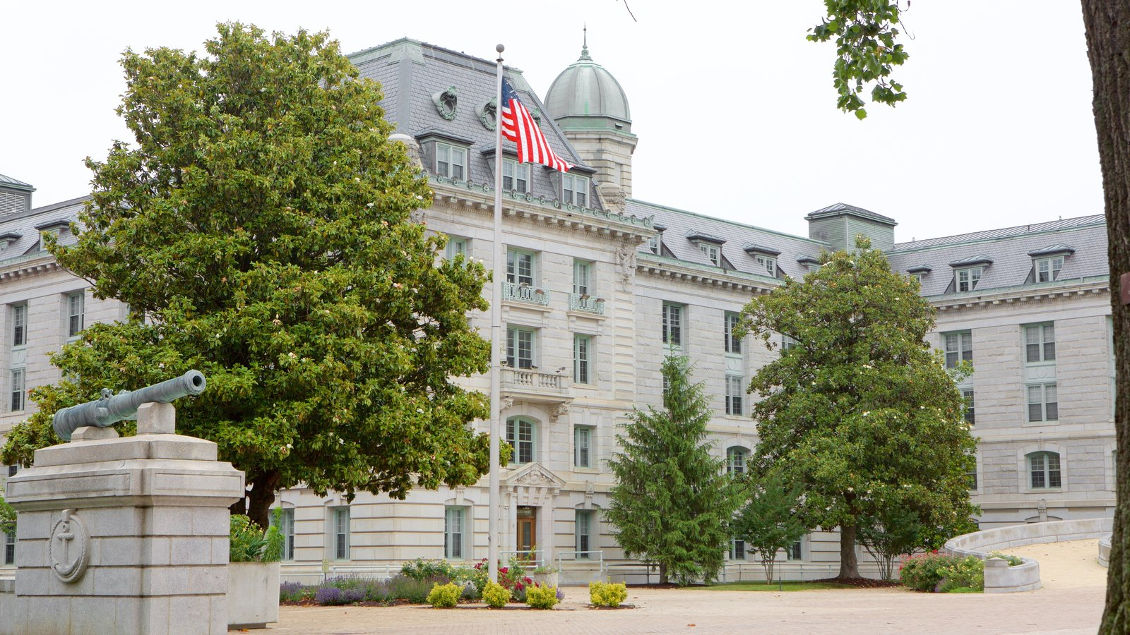 U.S. Naval Academy which includes military items and heritage architecture