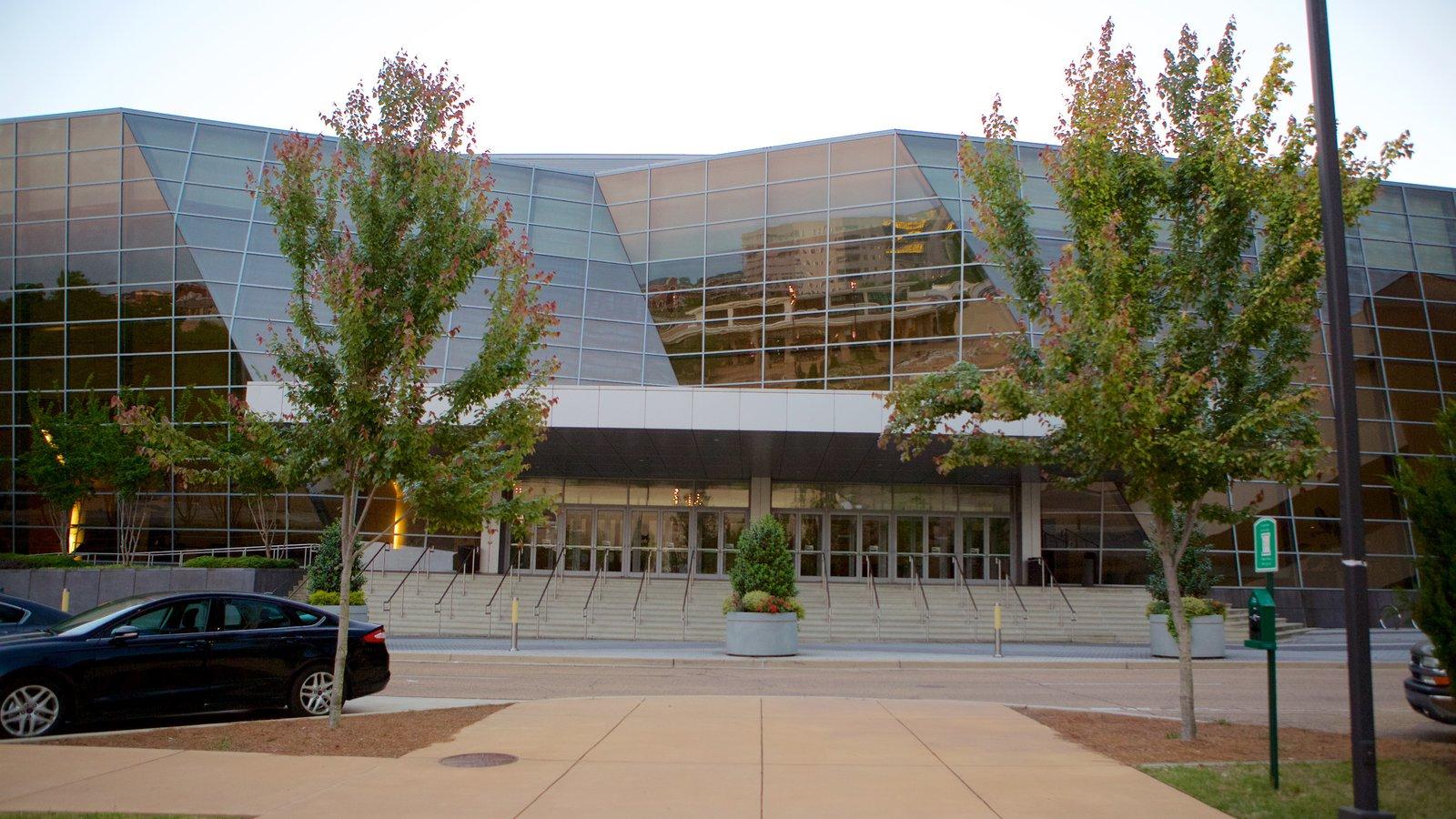 Jackson Convention Complex mostrando arquitetura moderna