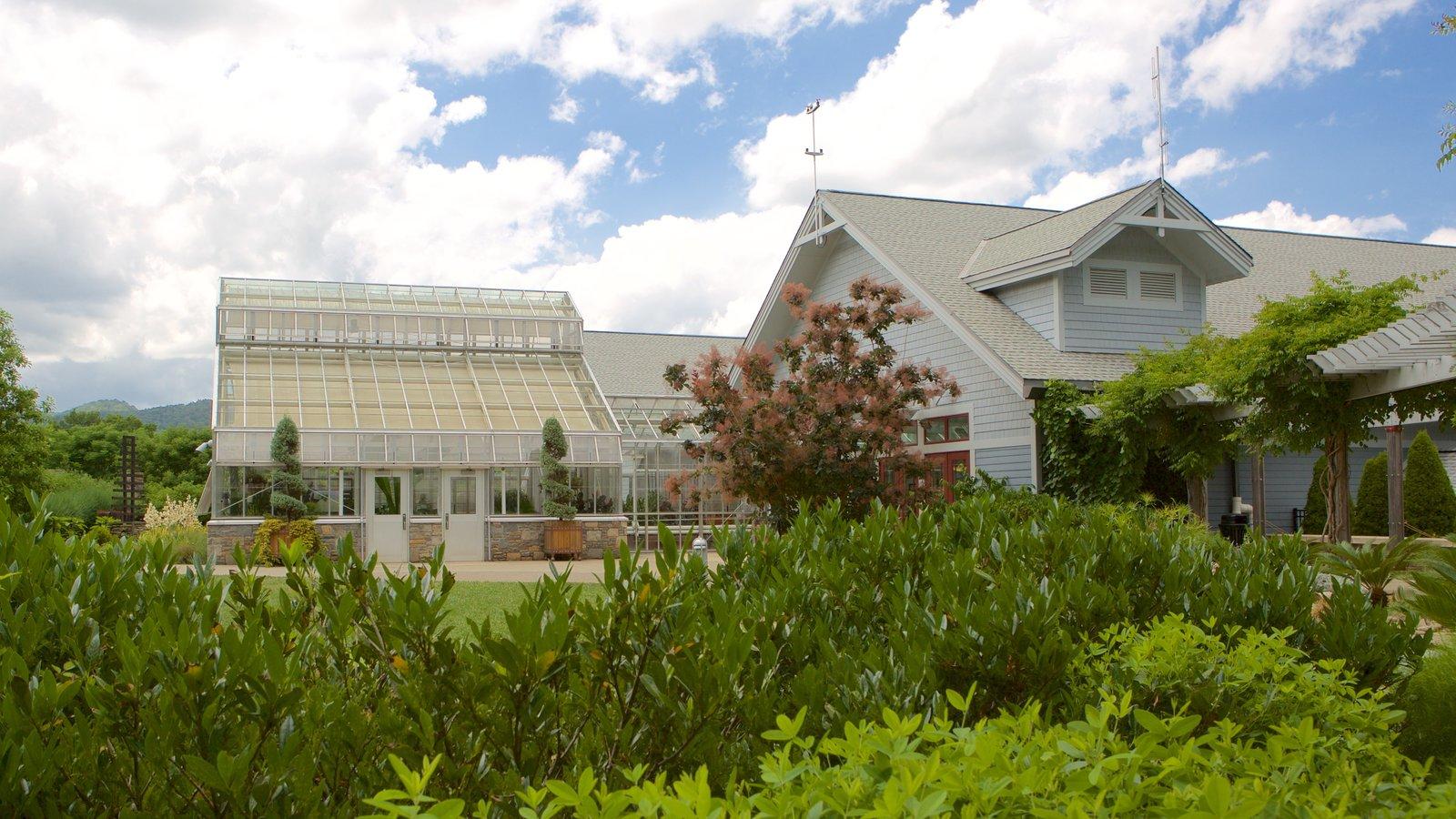 North Carolina Arboretum which includes a park