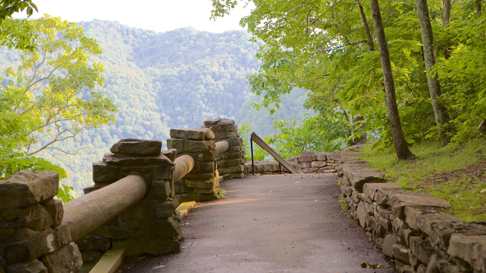 Hawks Nest State Park which includes a park