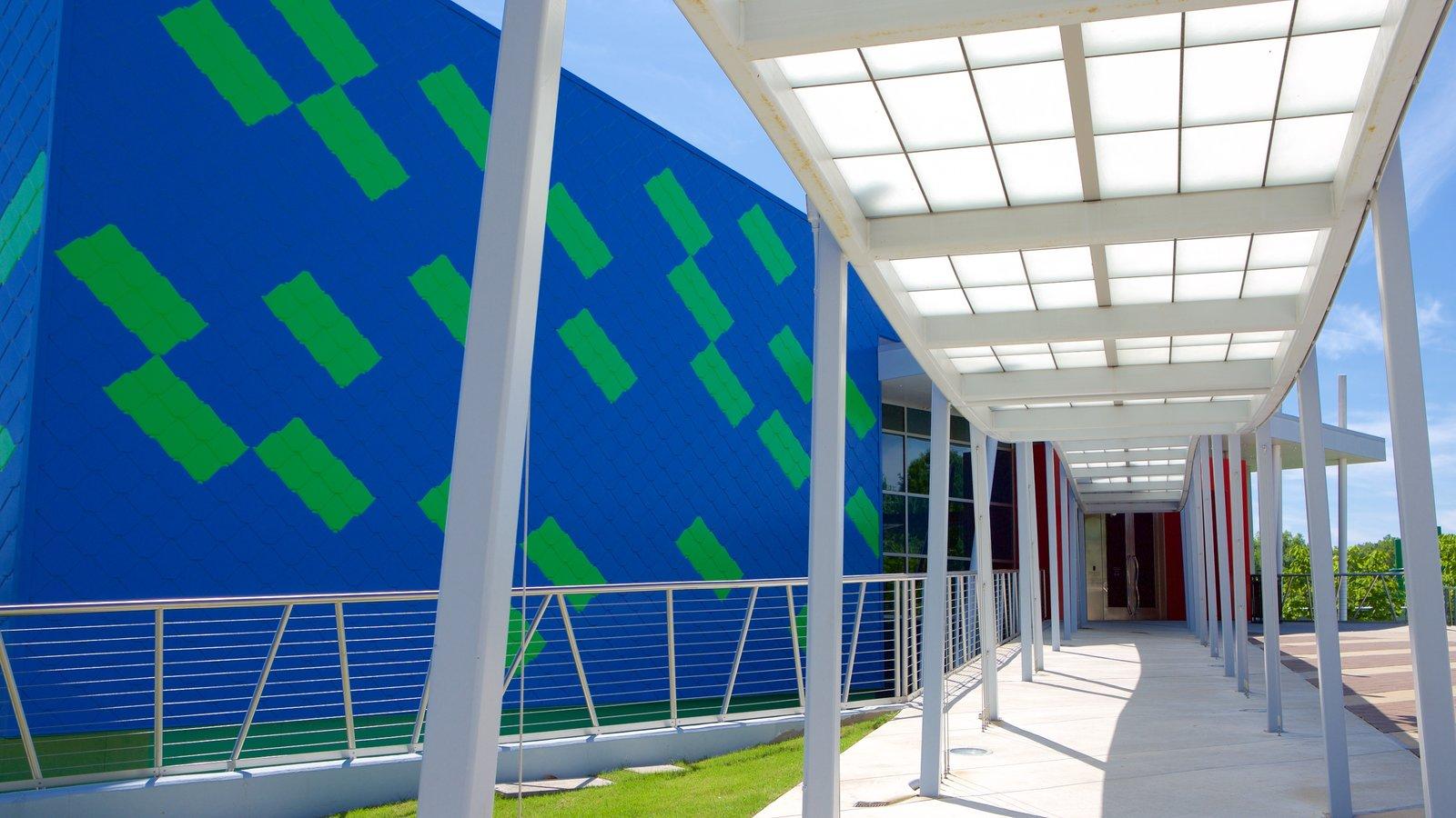 Mississippi Children\'s Museum mostrando arquitetura moderna