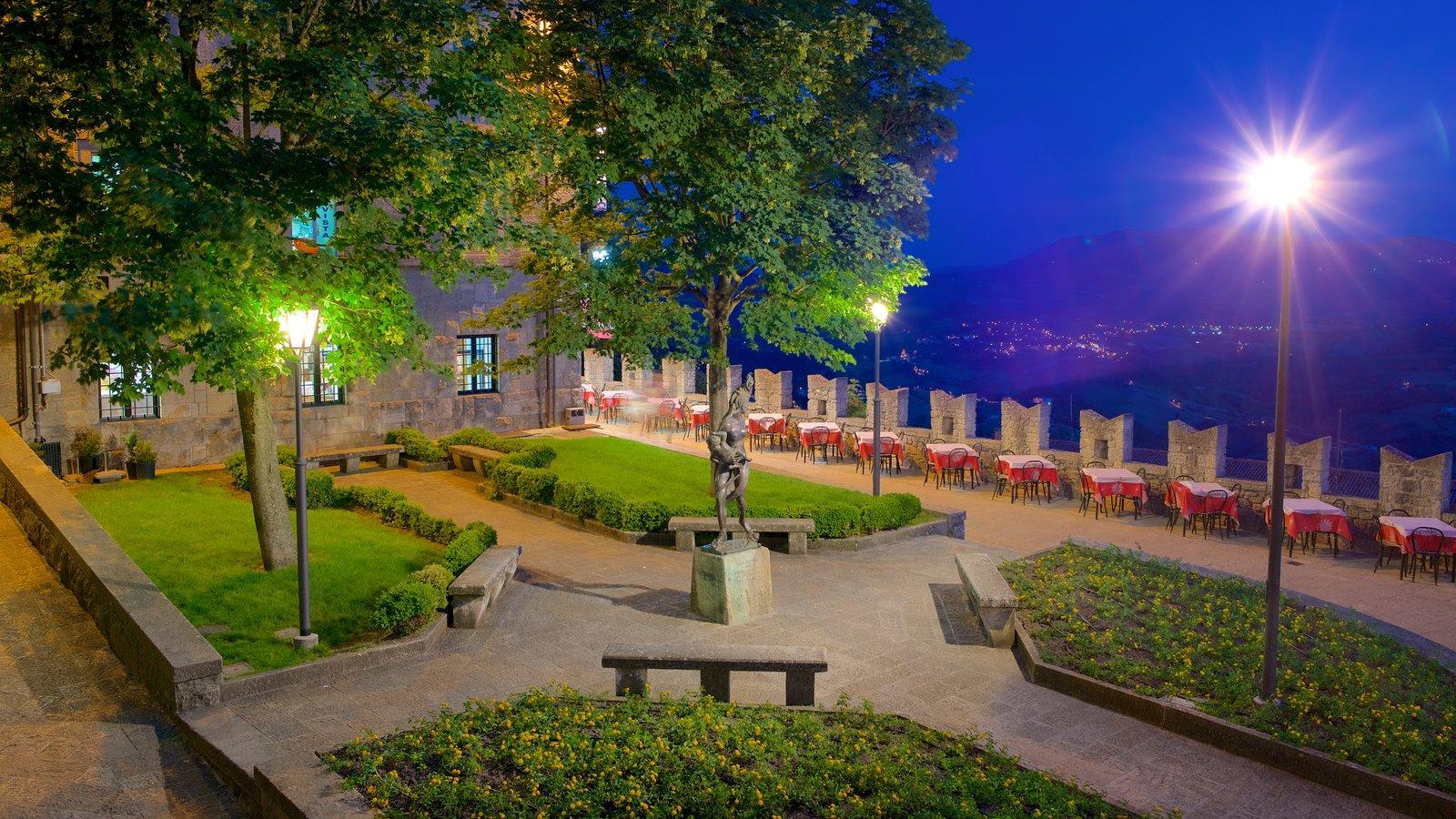 San Marino que inclui um parque, um monumento e paisagens