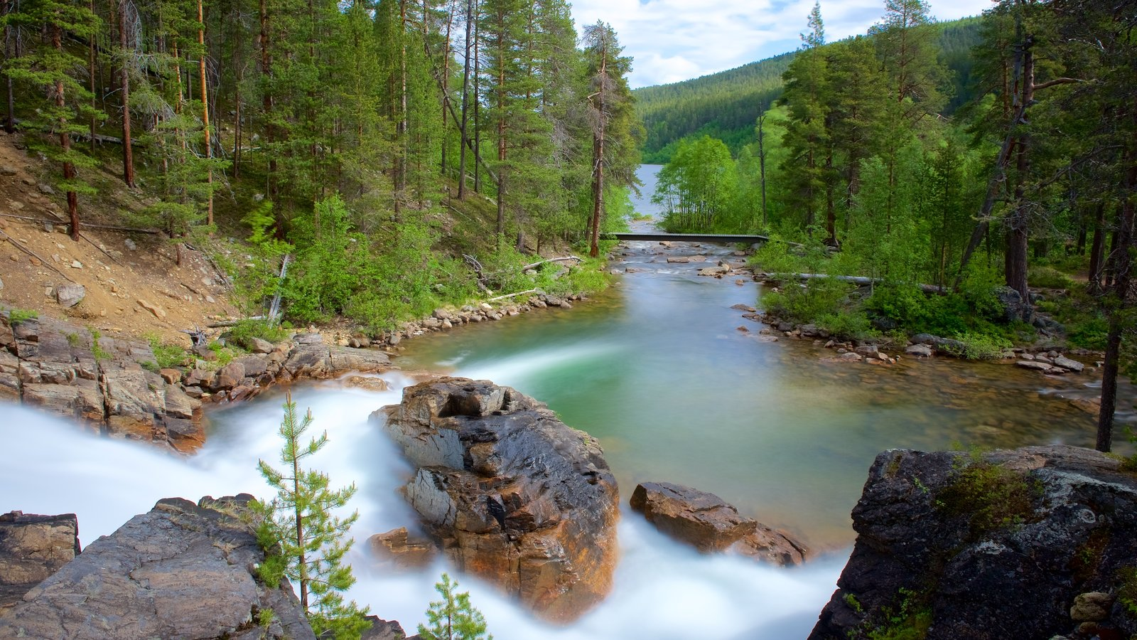 Peaceful Pictures View Images Of Lemmenjoki National Park