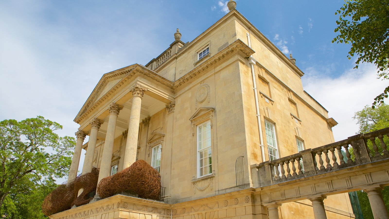The Holburne Museum showing heritage architecture