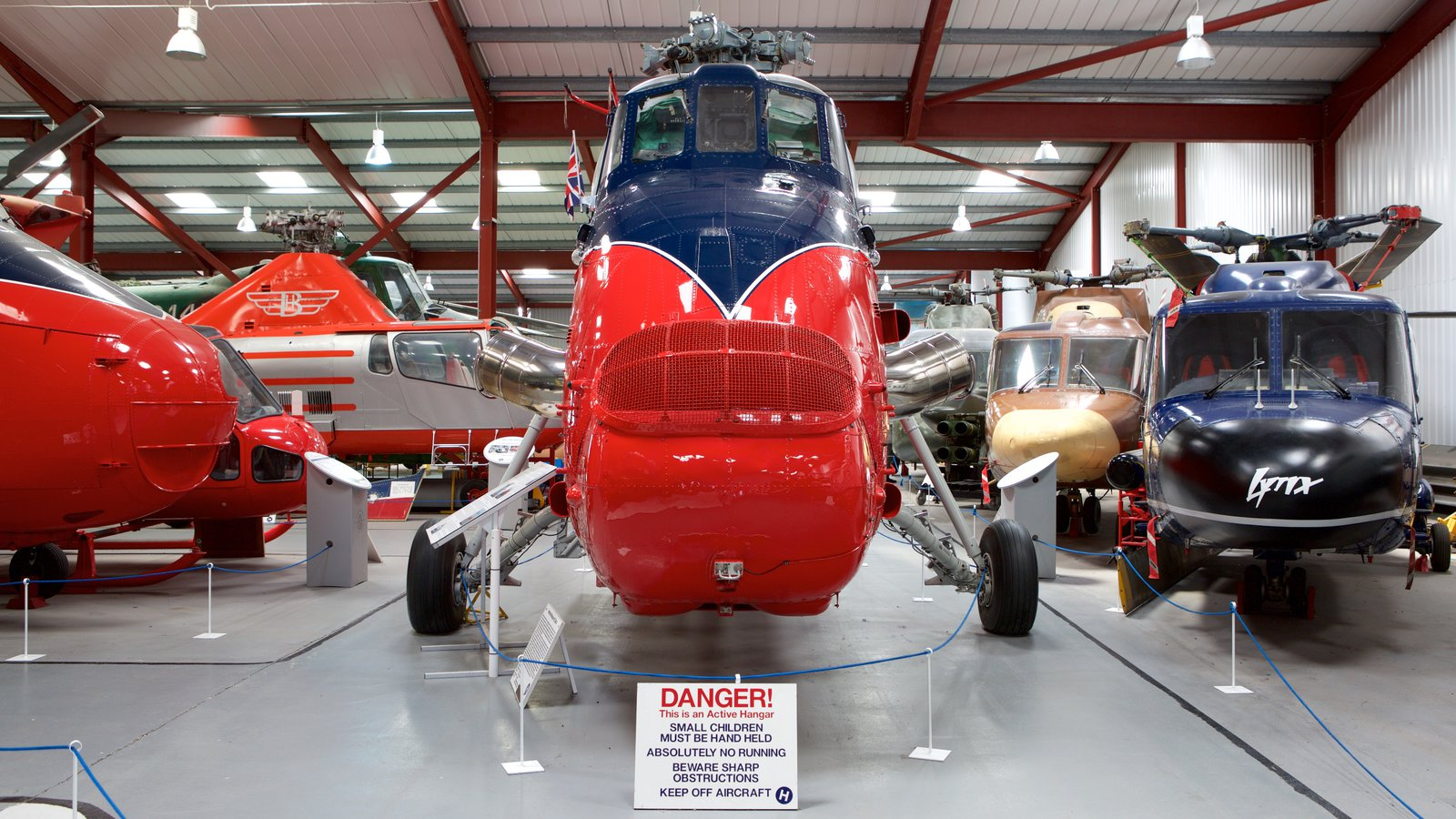 International Helicopter Museum which includes interior views and aircraft