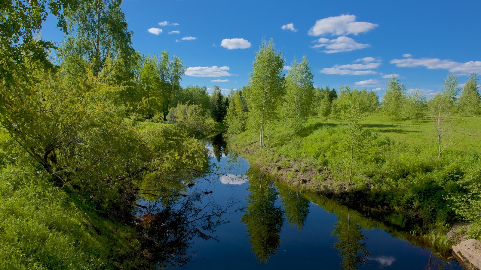 Arktikum showing tranquil scenes and a river or creek