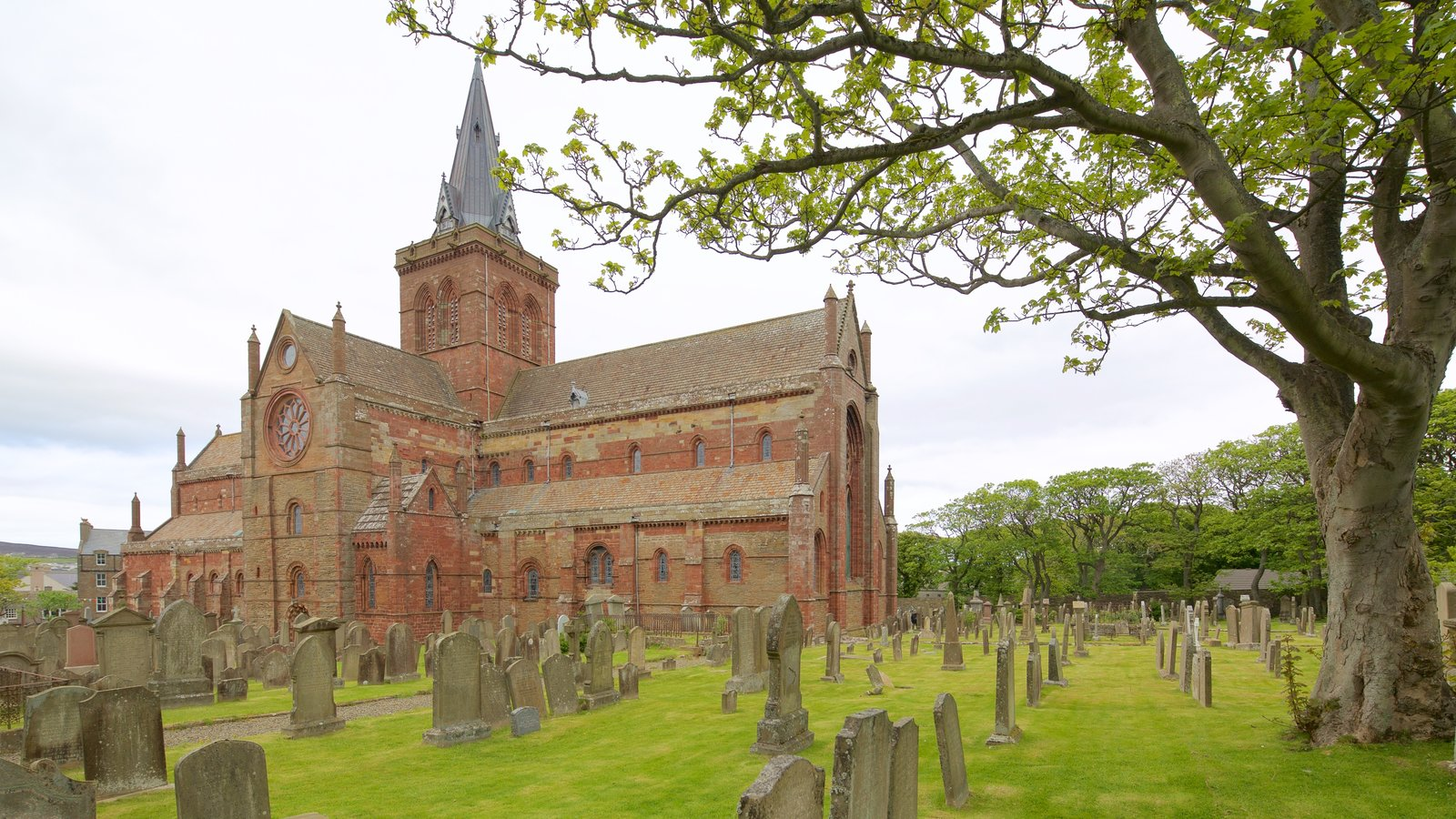 St. Magnus Cathedral featuring a church or cathedral, heritage architecture and heritage elements