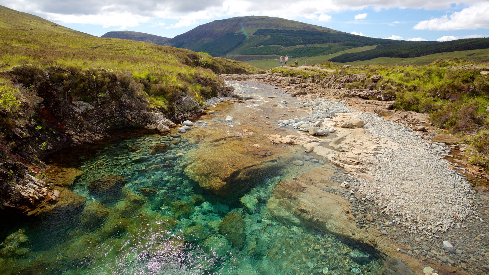 Isle of Skye featuring tranquil scenes, a pond and a river or creek