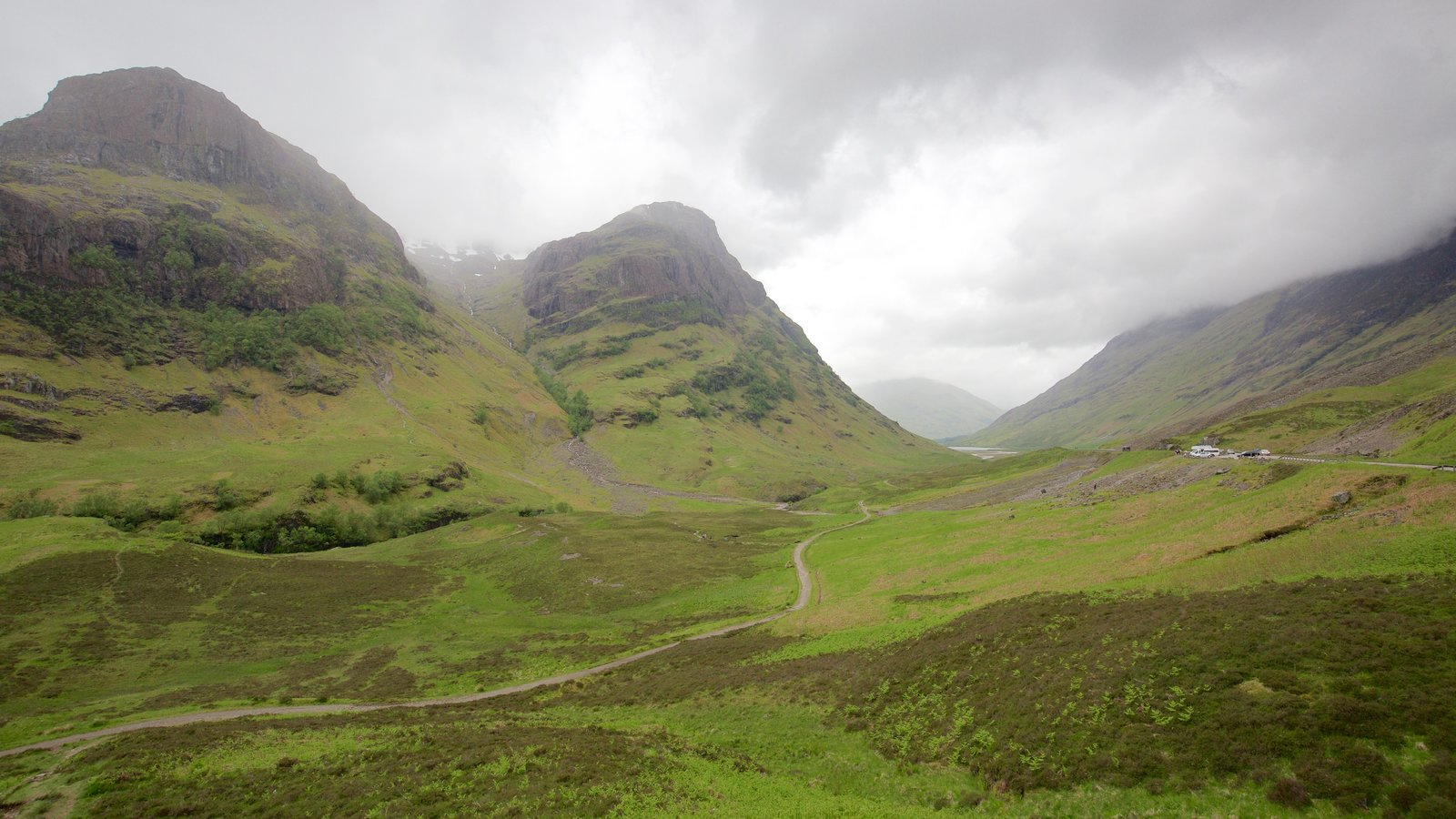Glencoe showing mountains and tranquil scenes