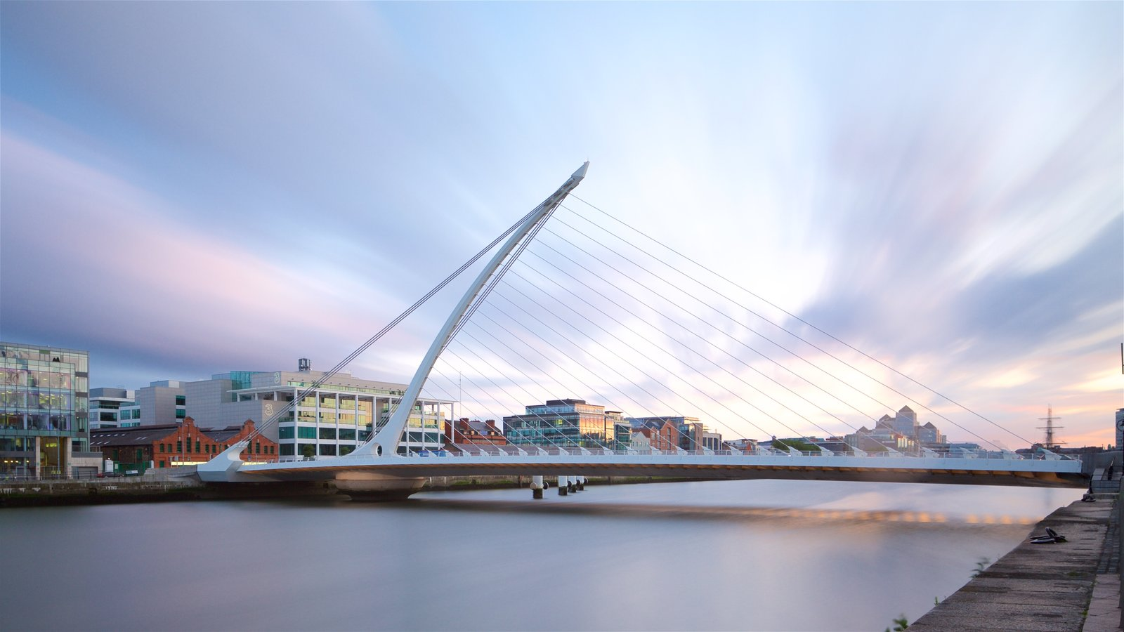 Modern Architecture Dublin modern architecture pictures: view images of samuel beckett bridge