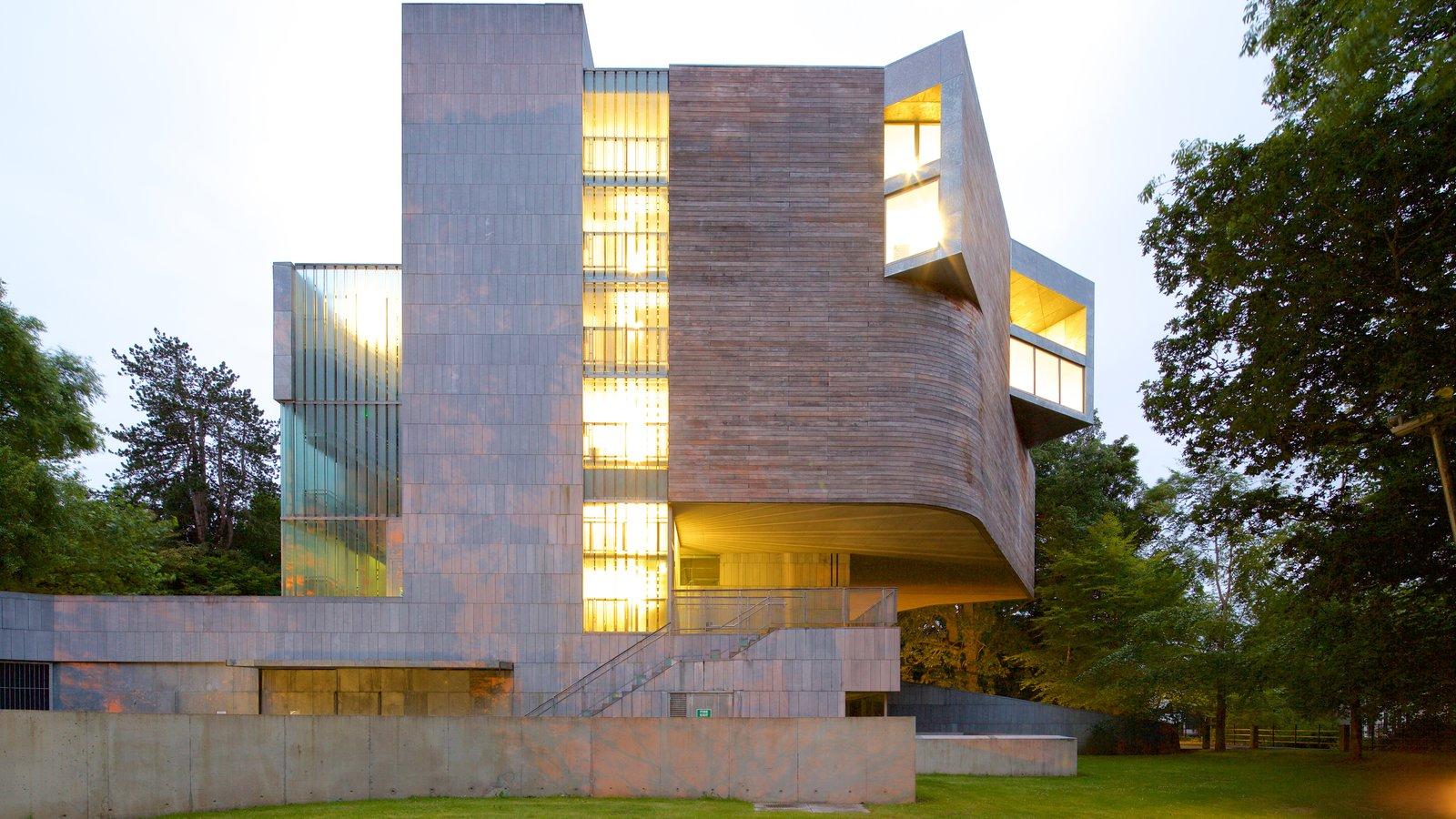 Glucksman Gallery mostrando arquitectura moderna