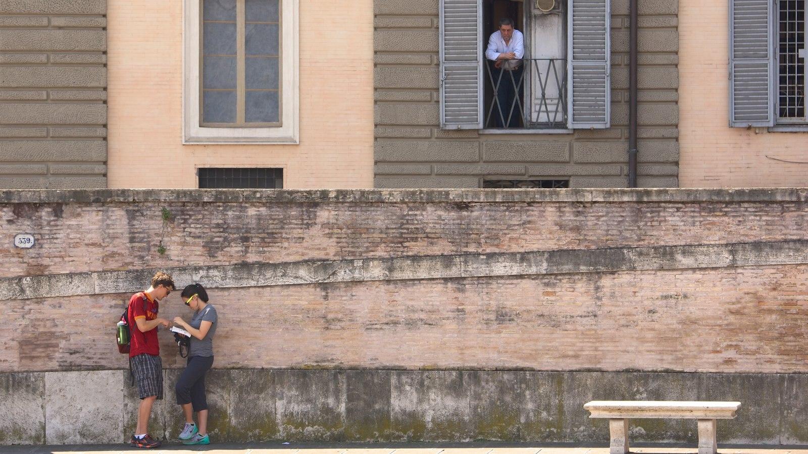 Via del Corso as well as a couple