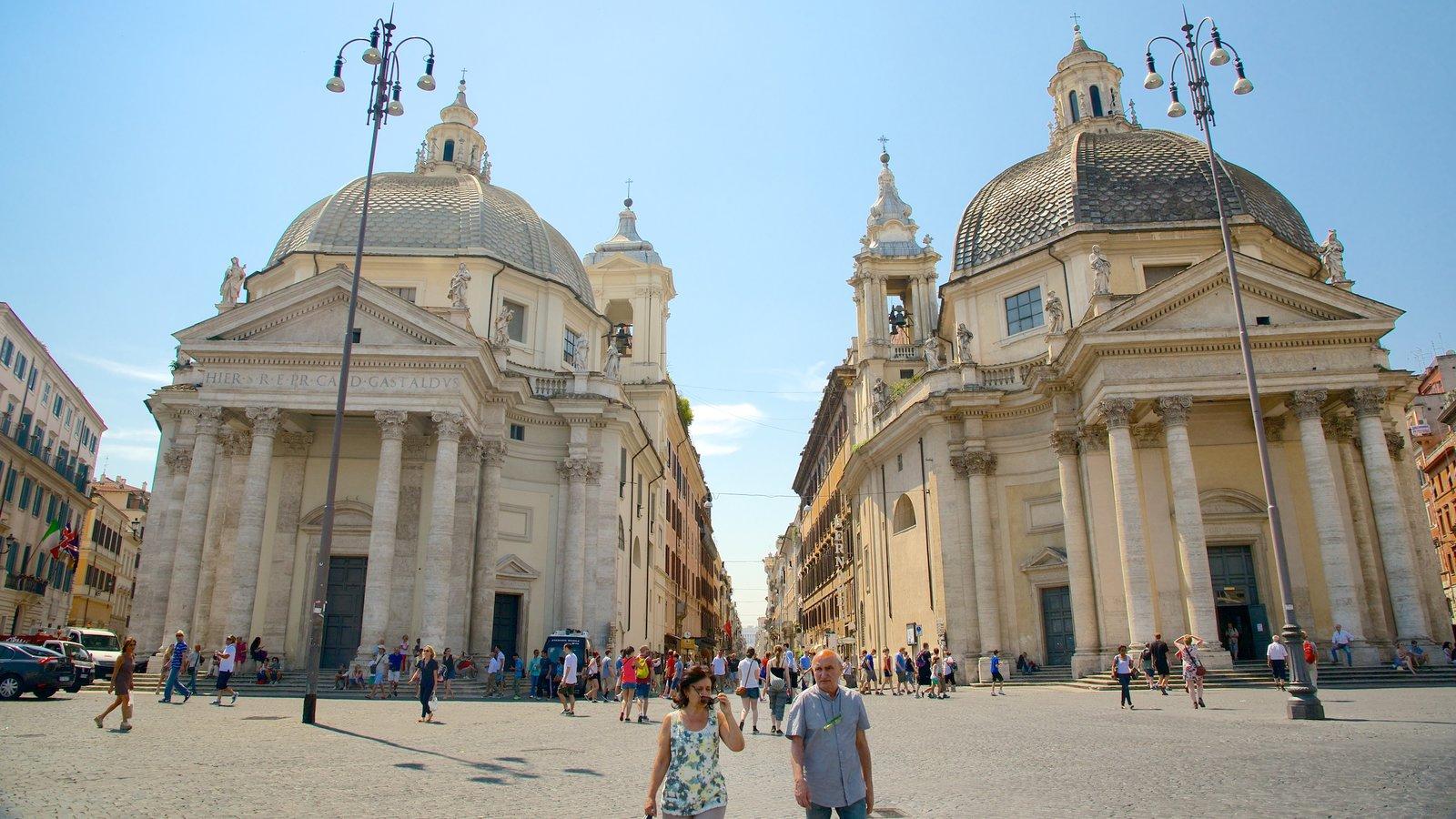 Via del Corso featuring street scenes, a city and a square or plaza