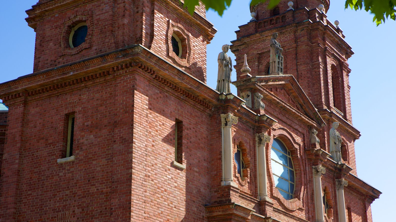 Asheville which includes a church or cathedral, a statue or sculpture and religious elements