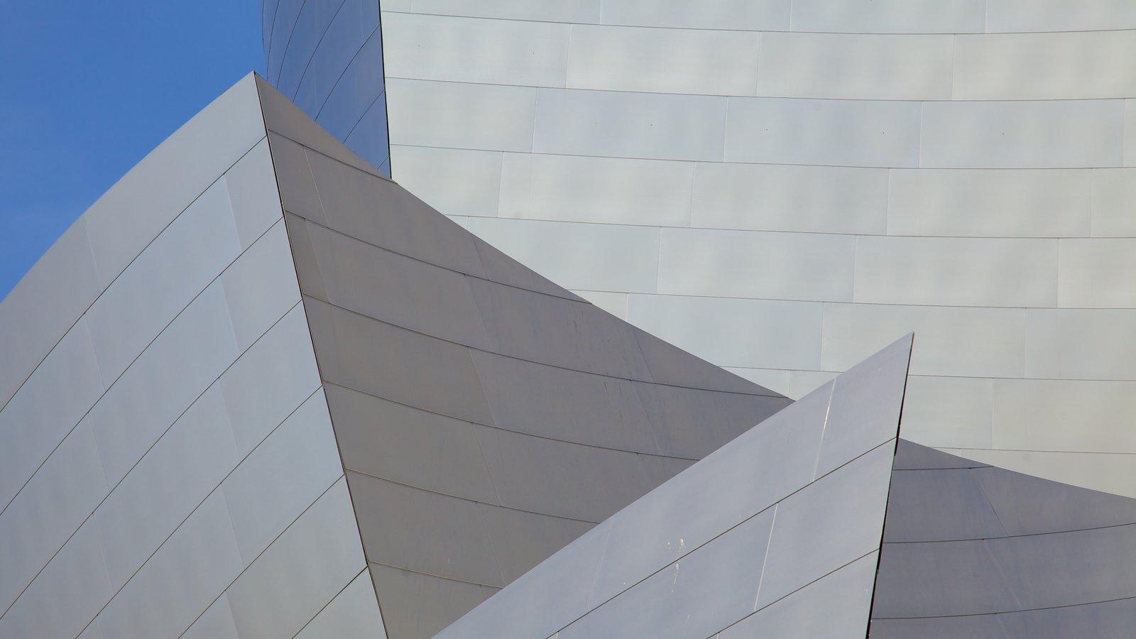 Centro de Los Ángeles que incluye arquitectura moderna