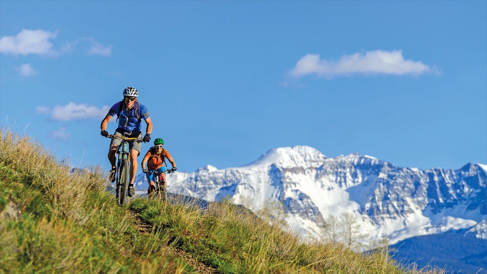 Telluride Ski Resort Which Includes Mountains Mountain Biking And Snow