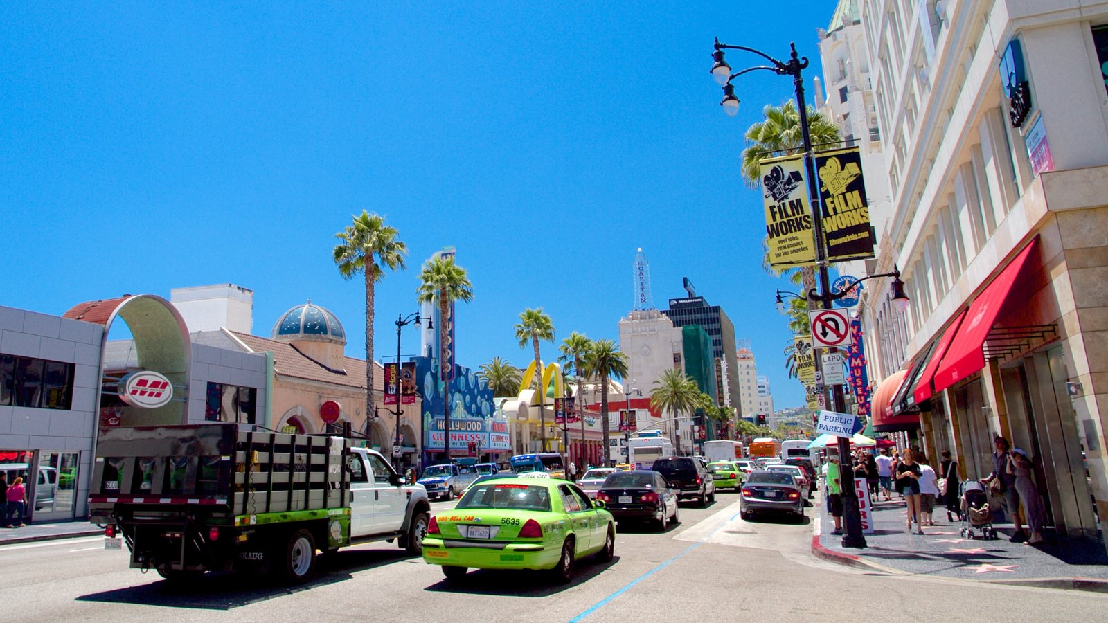 hollywood boulevard pictures view photos images of hollywood